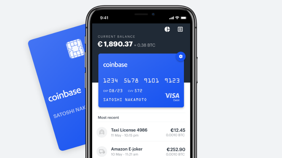 The Coinbase app