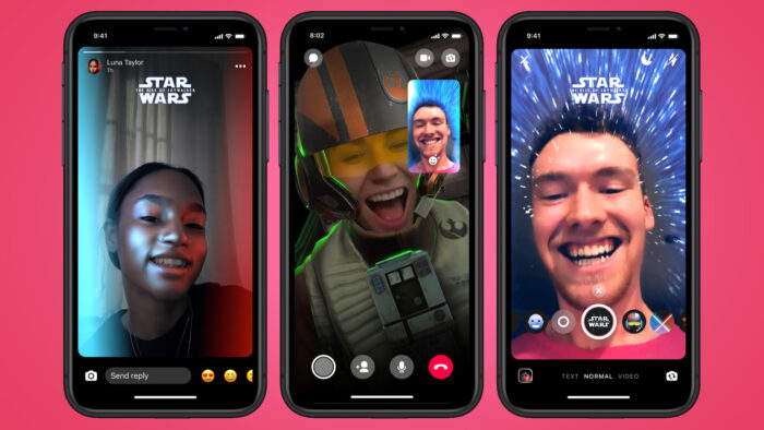 Facebook Messenger Star Wars theme