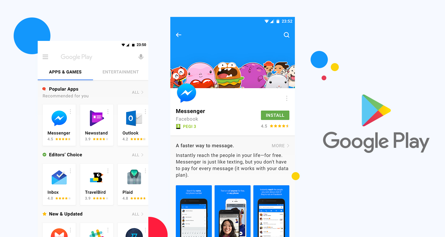 New Playstore Redesign