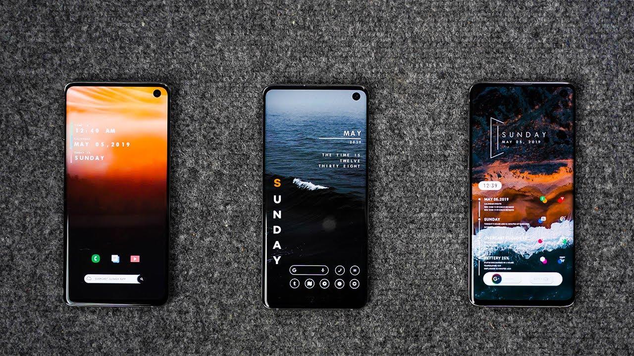 Android Phone Homescreen