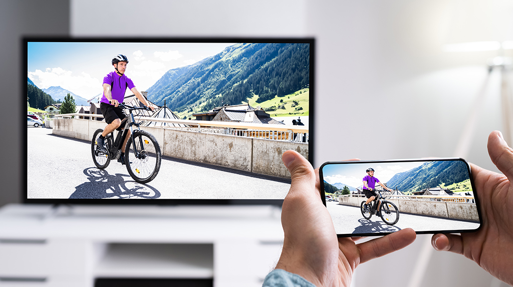 Cast your Android phone screen to your TV