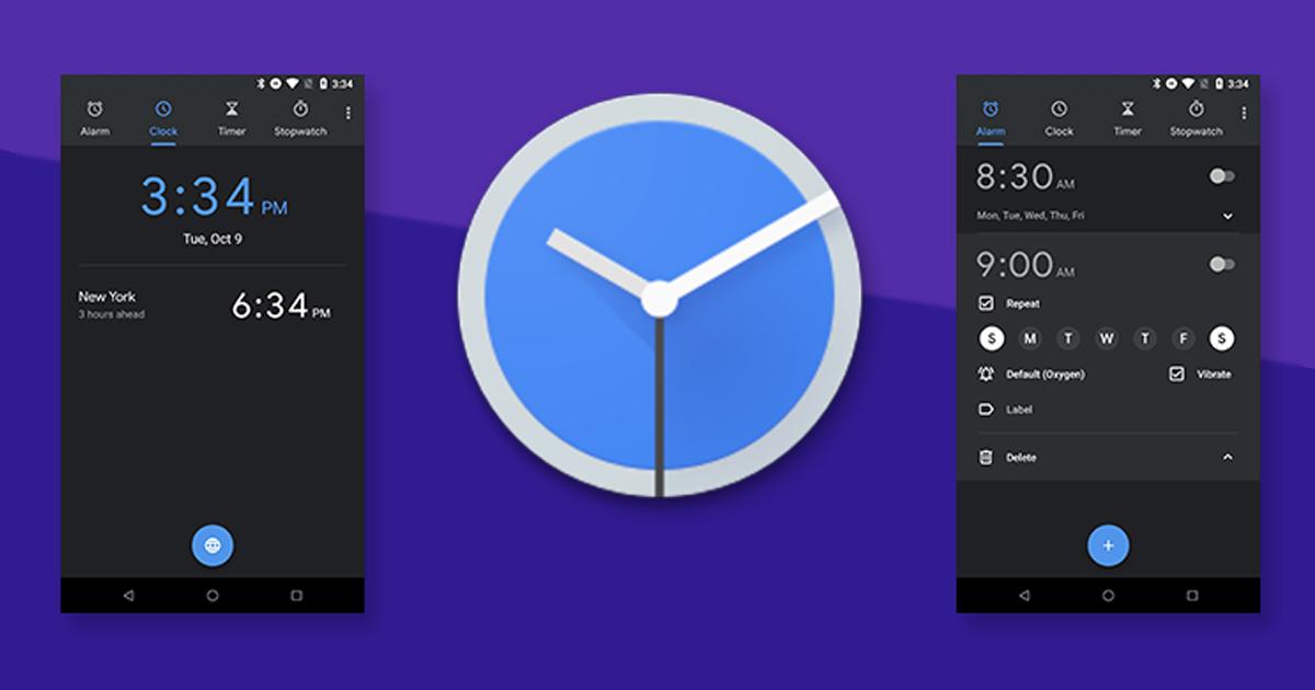 Google Clock bug
