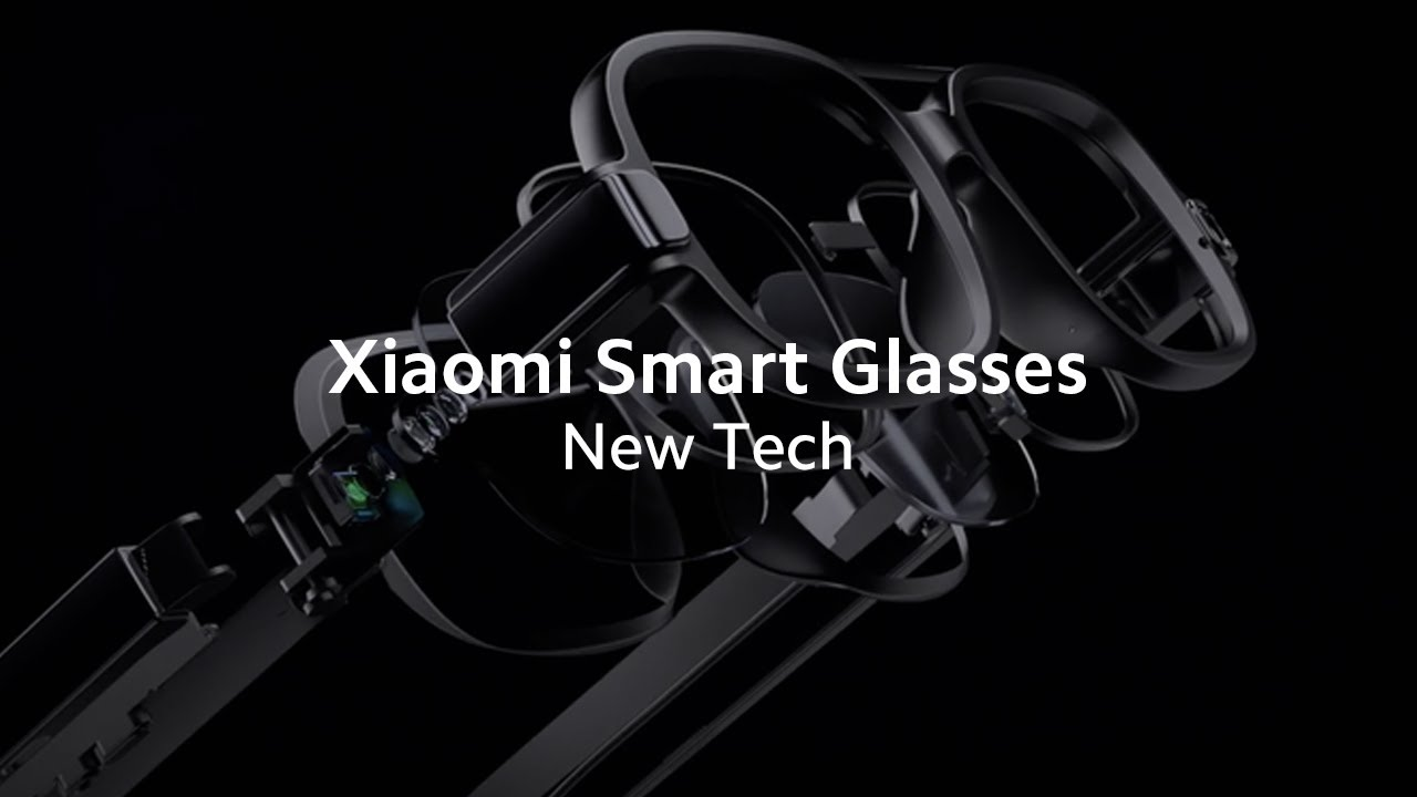 Xiaomi Smart Glasses With Calling, Photos, and Navigation